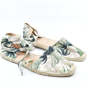 Tropical Flat Espadrilles